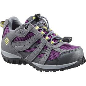 Columbia Redmond WP - Calzado Niños - gris/violeta